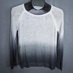 Rag & Bone Womens Sweater Small Gray Odette Ombre